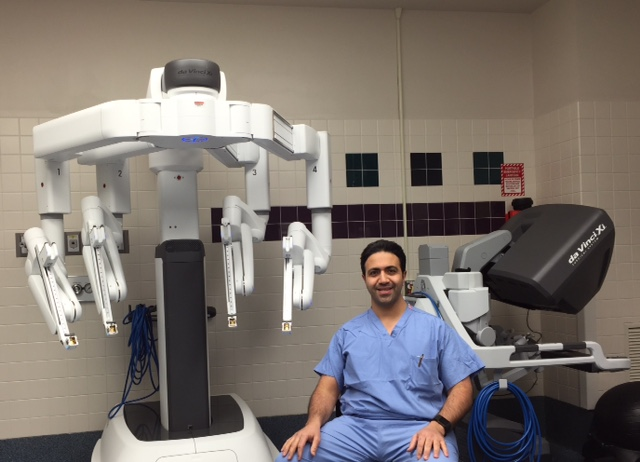 Robotic Surgery da vinci
