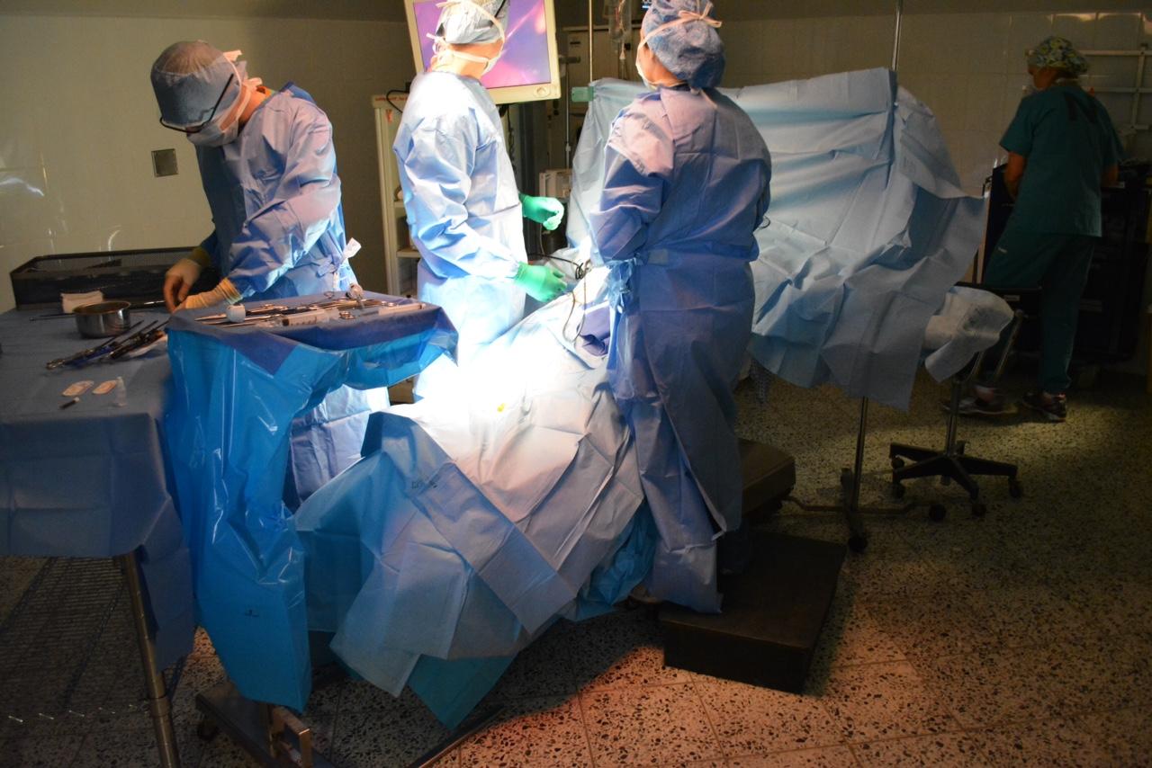 Dr. Kemp in Honduras